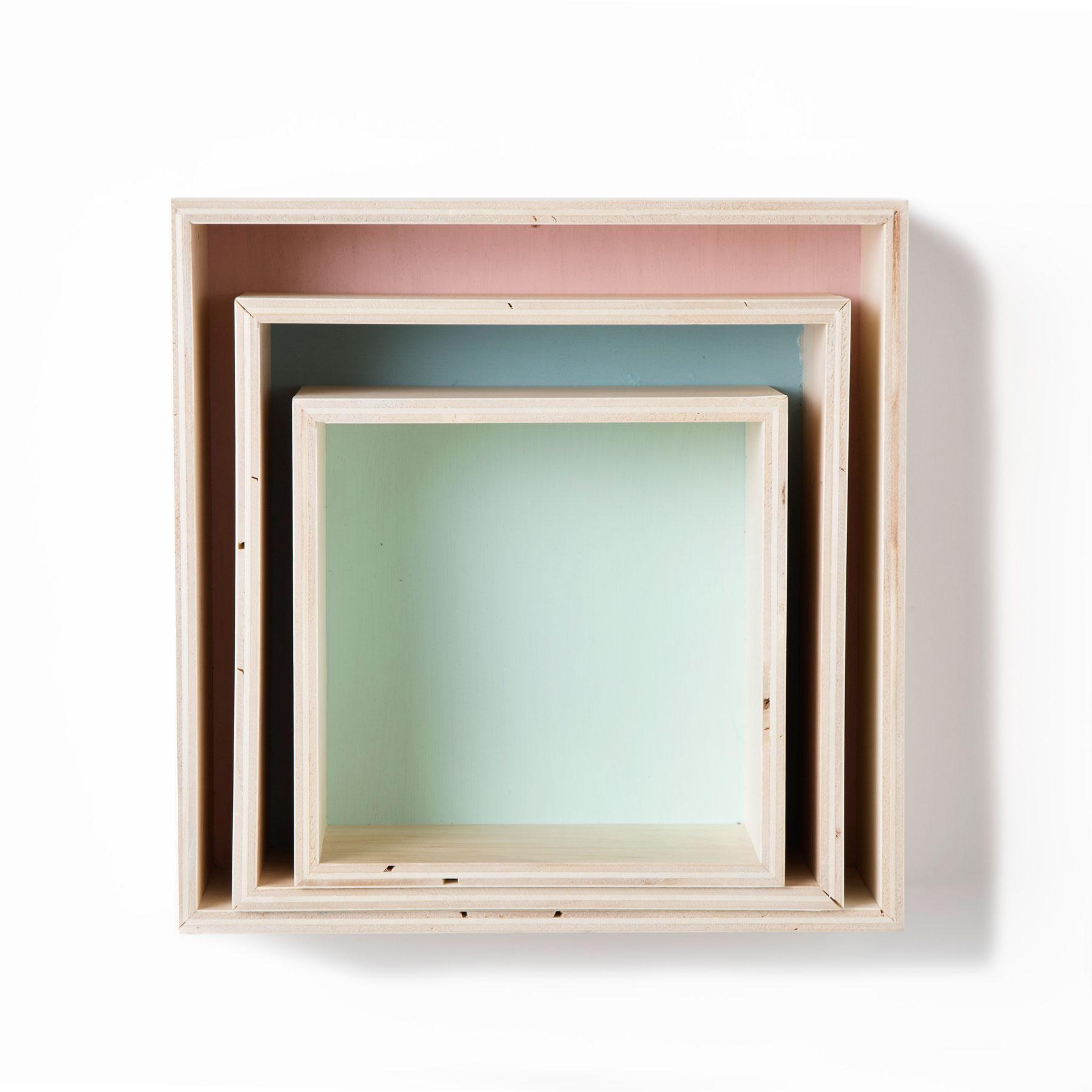 Conjunto estanter as cubo wondernology for Estanterias cuadradas