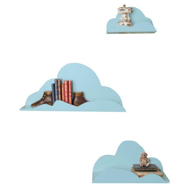 Set de estanterías Nube Azules