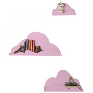 Set de estanterías Nube Rosas