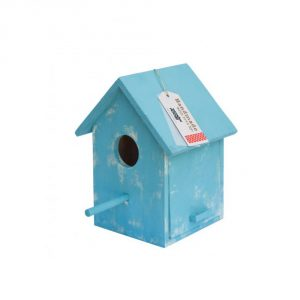 Lámpara casita pájaro blue